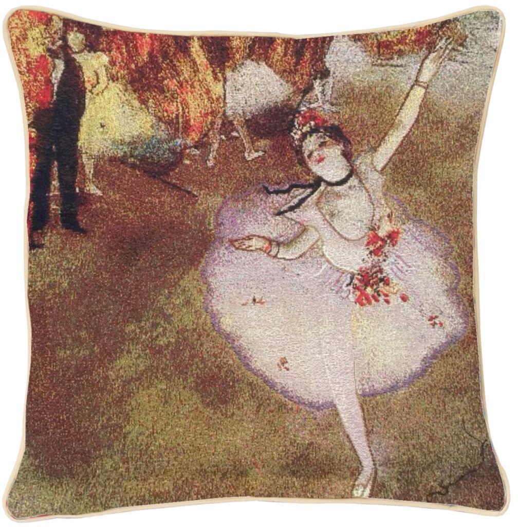 Kunst kussenhoes Edgar Degas: Ballerina (1)